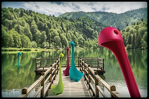Soeplepel Nessie groen