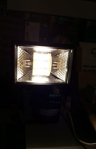 buislamp in led dimbaar R7S-led- 5730 5W 55x78