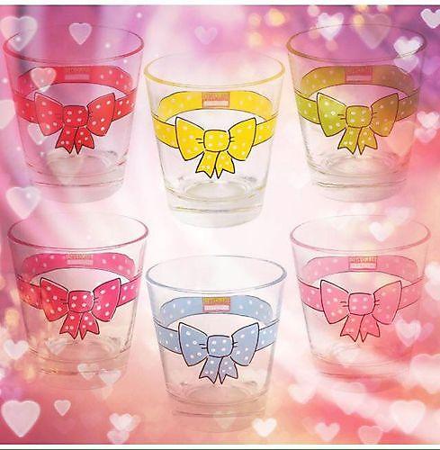 Prachtige set van 6 Blond Amsterdam glazen!
