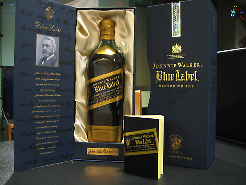 Johnnie Walker blue  label 0.7 liter