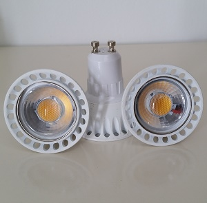 GU10 C2 LED lamps. Set of 6 pieces