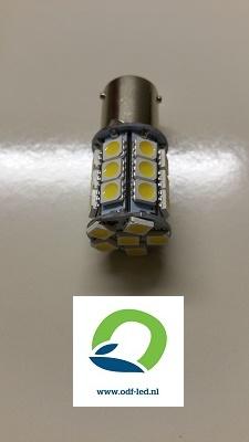 Bajonet led lamp BAU15S 4 stuks