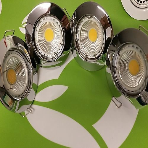 4x led downlight