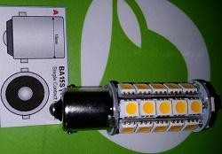 Bajonet BA15S led lamp 5050SMD. 4 stuks