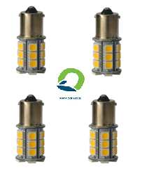 BAYONET BAY15D LED BULB 12-30Volt. 4 pcs