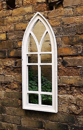 Zaltii gotische spiegel London 109 wit