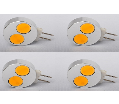 4x G4 led lights with 1 transformer