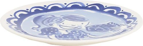 Dessert plate girl 18cm