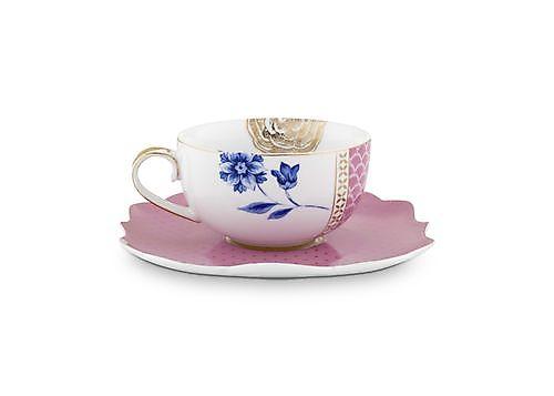 Pip Studio Royal - Cup and Saucer Royal pink