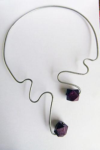 Collier Double Purple
