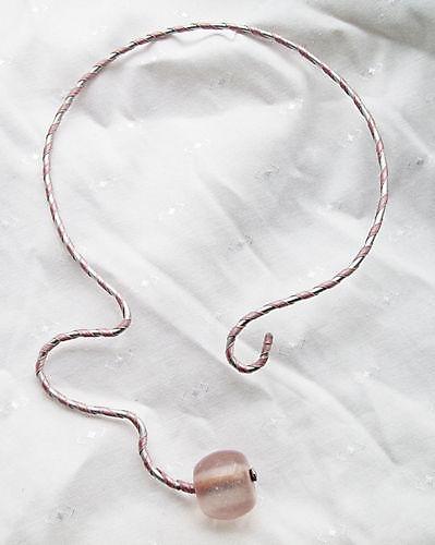Halscollier Pink