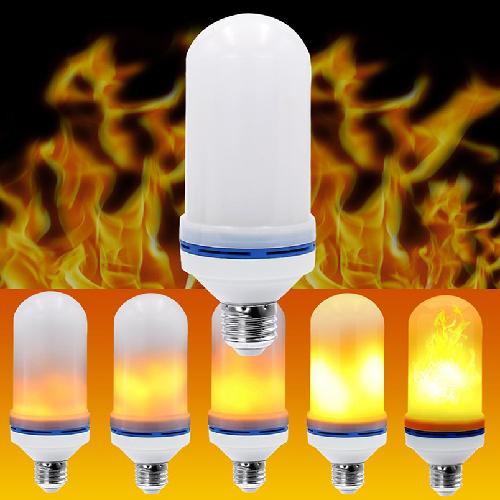 Flame led lamp