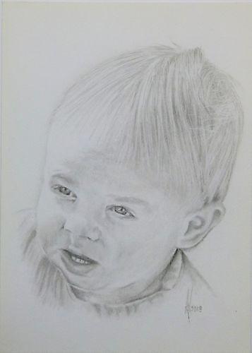 Portrettekening van uw (klein)kind