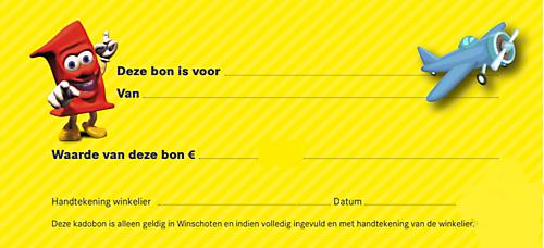 Cadeaubon 15 euro Top1Toys Jager Winschoten