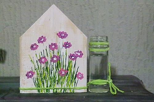 Vaas Huis Roze