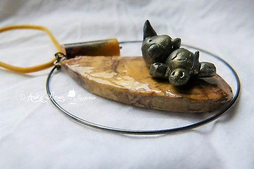 Hanger baby neushoorn
