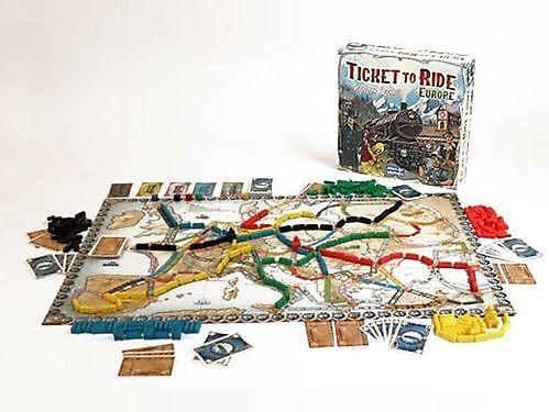 Spel Ticket to ride Europe