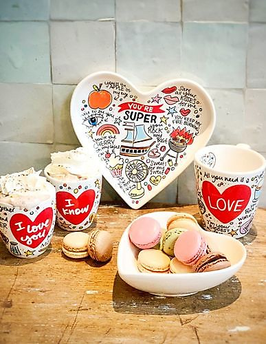Valentijn 3D BEKER LOVE 0,35L