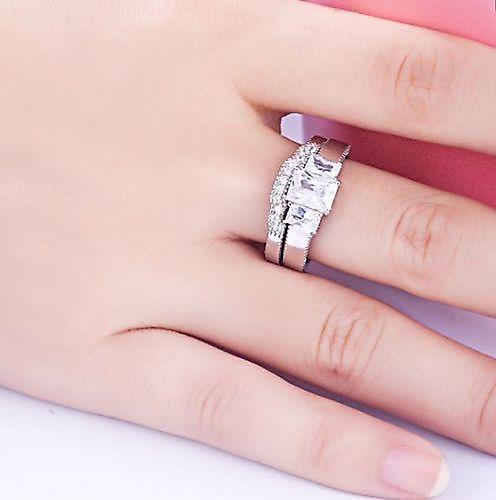 Schitterende Zilveren Ring model 212