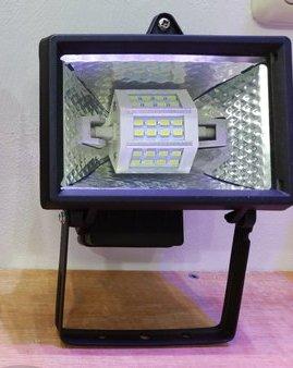 breedstraler met led lamp voor binnen en buiten gebruik. Black Bedroom Furniture Sets. Home Design Ideas