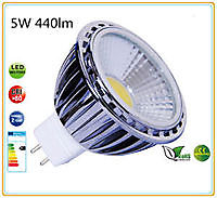 MR16 led lamp COB5 12-30Volt