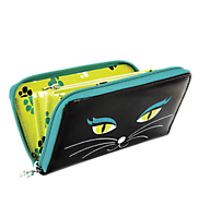 Pylones Wallet - Voyage  Black Cat