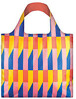 LOQI Bag Geometric - Stripes