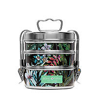 Boho Tiffin - Botanic Black Mini