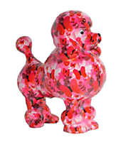 Pomme Pidou - money box - Poodle Paris butterflies