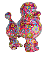 Pomme Pidou - money box - Poodle Paris pink