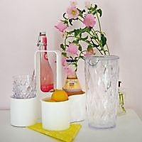 koziol CADDY bottle holder white
