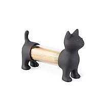 T.pick holder & salt&pepper shaker Cat Grey