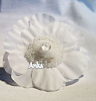 Ring White Flower