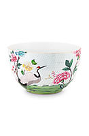 Kom Blushing Birds White 23cm